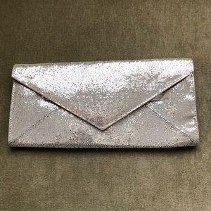 Silver Sparkle Clutch